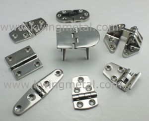 Stainless Steel Deck Hinge with Release Pin pictures & photos