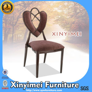 Upholstered Imitated Wood Stacking Chair (XYM-H79) pictures & photos