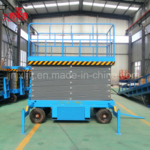 Scissor Lifting Equipment Aerial Platform Construction Machinery pictures & photos