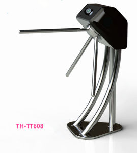 Biometric Controlled Tripod Turnstile Th-Tt608 pictures & photos