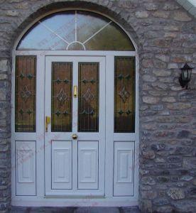 High Quality PVC Arch Casement Window (BHP-CDA16) pictures & photos