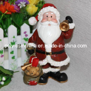 Resin/Polyresin Christmas Figure of Santa Claus Man Crafts pictures & photos