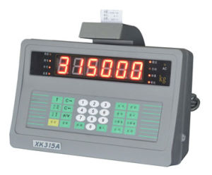 Truck Scale Weighing Indicator with Build-in Mini Printer Xk315A6p pictures & photos