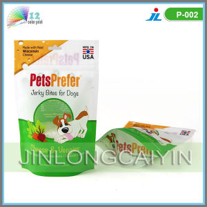 Bottom Gusset Dog Food Packaging Bags with Zipper Top pictures & photos