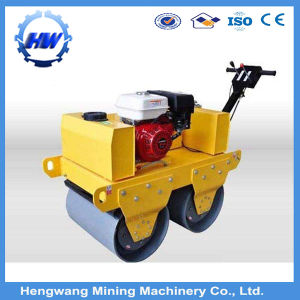 Ride-on 3 Ton Vibratory Road Roller, Double Drum Road Roller pictures & photos