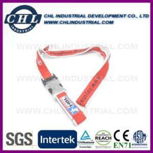Custom Logo Printed Adjustable Flat Safety Lanyards for Identification pictures & photos