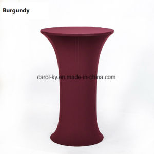 Spandex Washable Banquet Table Cover Table Cloth Tablecover pictures & photos