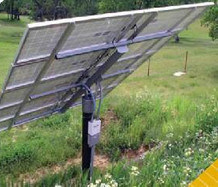 Top-of-Pole Mounts Single Pillar Photovoltaic Support pictures & photos