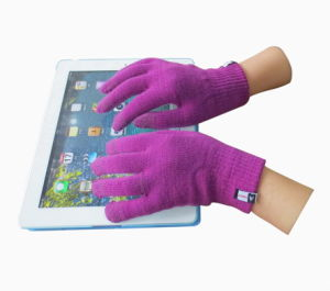 Five Finger Touch Screen Glove pictures & photos