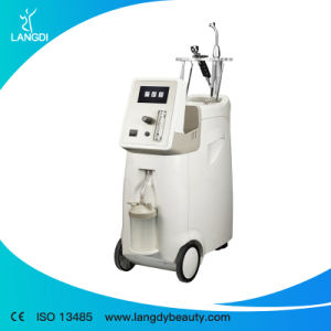 Langdi Facial Whitening Cleaning Oxygen Jet Peel Machine pictures & photos