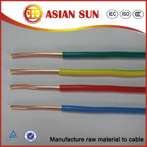 Factory Direct Sales 450/750V PVC Insulated Electrical Wire Prices pictures & photos