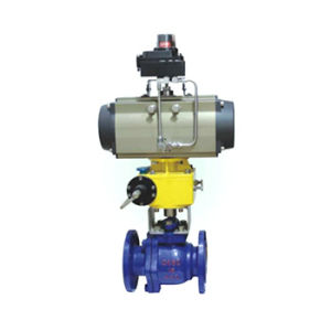 Pneumatic/Electric Lining Fluorine Ball Valve pictures & photos