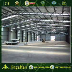 High Quality Steel Structure Warehouse with ISO: 9001: 2008 (L-S-021) pictures & photos