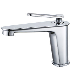 Sanitary Ware Chrome Brass Deck Mounted Bathroom Basin Faucet pictures & photos
