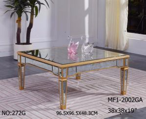 Coffer Table with Antique Mirror pictures & photos