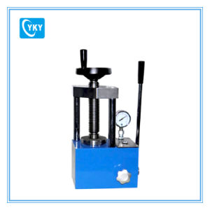 12t Manually Powder Hydraulic Press Machine with Pointer Pressure Gauge pictures & photos