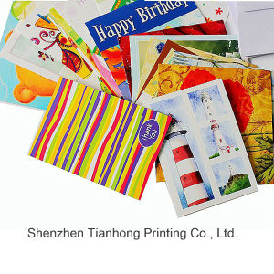 Paper Card Printing Services (OEM-CR003) pictures & photos