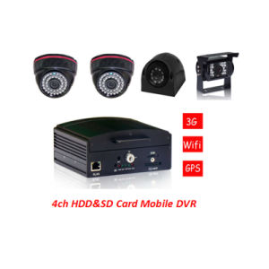 4G School Bus Mobile DVR Safety Solution with Car Camera, Remote Control pictures & photos