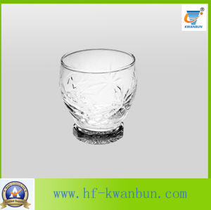 Promotional Clear Glass Water Cup with Good Price Kb-Hn085 pictures & photos