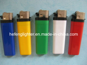 Disposable Lighter Flint Plastic Lighter with Full Part Solid Color (F82-S)