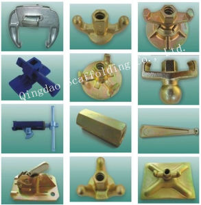 Authentication Manufacturer for Formwork Accessories Wing Nut&Tie Rod pictures & photos