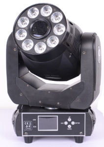 Powerful Mini 3-Face Prism Gobo Spot and Wash Combo LED Stage Moving Head Light pictures & photos