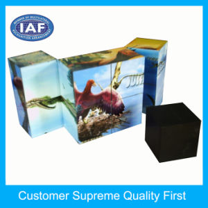 Factory Custom Good Quality Plastic Folding Magic Cube for Children pictures & photos