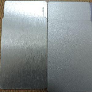 Silver PE / PVDF Coated Aluminum Plastic Composite Panel (ACP) pictures & photos