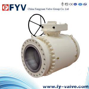 API 6D Full Bore Forged Steel Trunnion Ball Valves pictures & photos