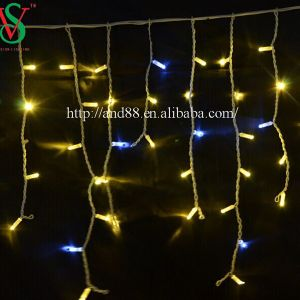 PVC Cable LED Icicle Light String Fairy Light for Outdoor Decoration pictures & photos