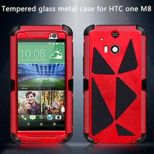 Aluminum Metal Waterproof HTC1-M8 Case with Gorilla Glass