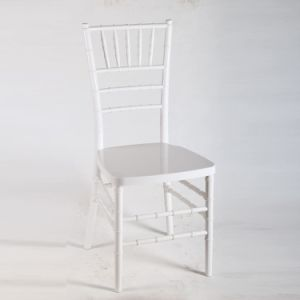 Wholesale White Polycarbonate Resin Chiavari Wedding Chairs pictures & photos