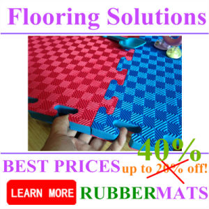 EVA Foam Interlock Rubber Mats with Colorful Color pictures & photos