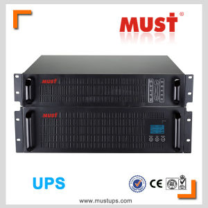 Rack Mount Type 1-10kVA Online High Frequency UPS pictures & photos