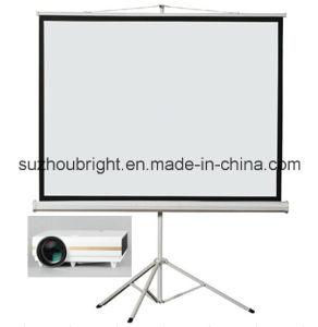 84 Inch 100 Inch 120 Inch 150 Inch Tripod Projection Screen Tripod Screen Projector