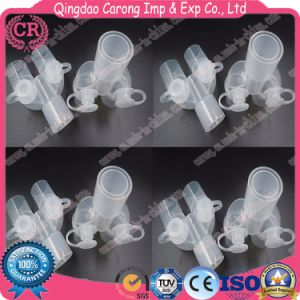 Anesthesia Breathing Circuit Parallel Wye Connector with Luer Port pictures & photos