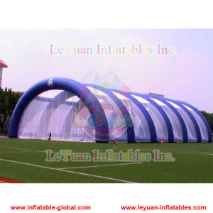 Mobile Inflatable Paintball Field