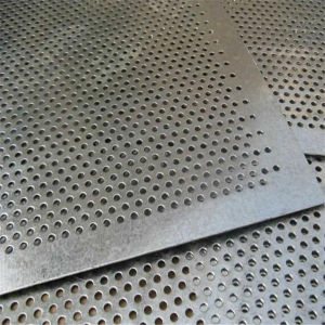 Hot Dipped Galvanized Perforated Metal Wire Mesh Sheet pictures & photos