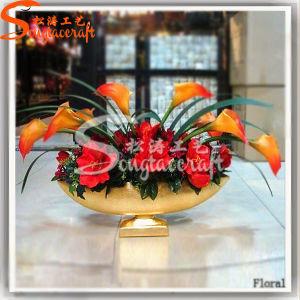 Home Decoration Plastic Product Artificial Bonsai Plant Wedding Silk Flowers pictures & photos