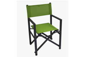Sling Fabric Portable Folding Chair for  Outdoor Patio Camping Lawn Picnic Time  Green Color pictures & photos