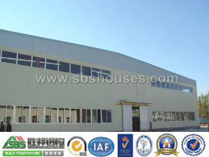 Industrial Prefab Steel Frame Workshop pictures & photos