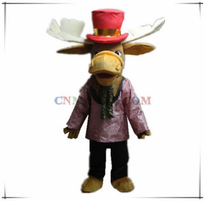 New Design Gentleman Deer Mascot Carnival Costume