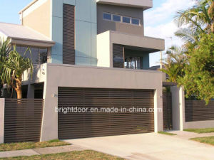 Sectional Garage Door, Stainless Steel Garage Door pictures & photos