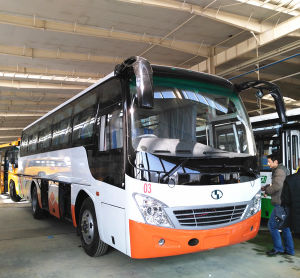 Chinese Cheap 9.8m 45 Seats Passenger Bus pictures & photos