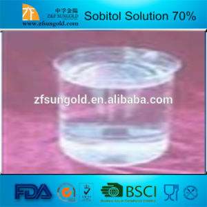 Food Additive Sweetener Sorbitol 70% Solution pictures & photos