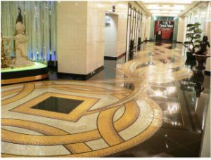 Gold Mosaic, Glass Gold Mosaic for Sale (GMO12)