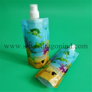 Stand-up Pouch Bag with Spout for Milk Packing pictures & photos