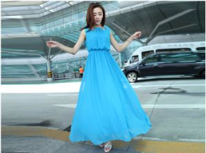 2015 China OEM Fashion Ladies Dress Sexy Women Dresses pictures & photos