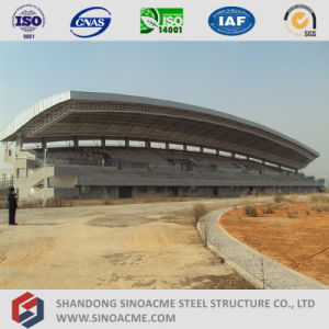 Steel Pipe Truss Structure for Stadium Stand Shed pictures & photos
