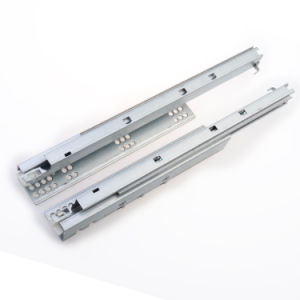 Steel Hidden Push to Open Hanging Drawer Slides pictures & photos